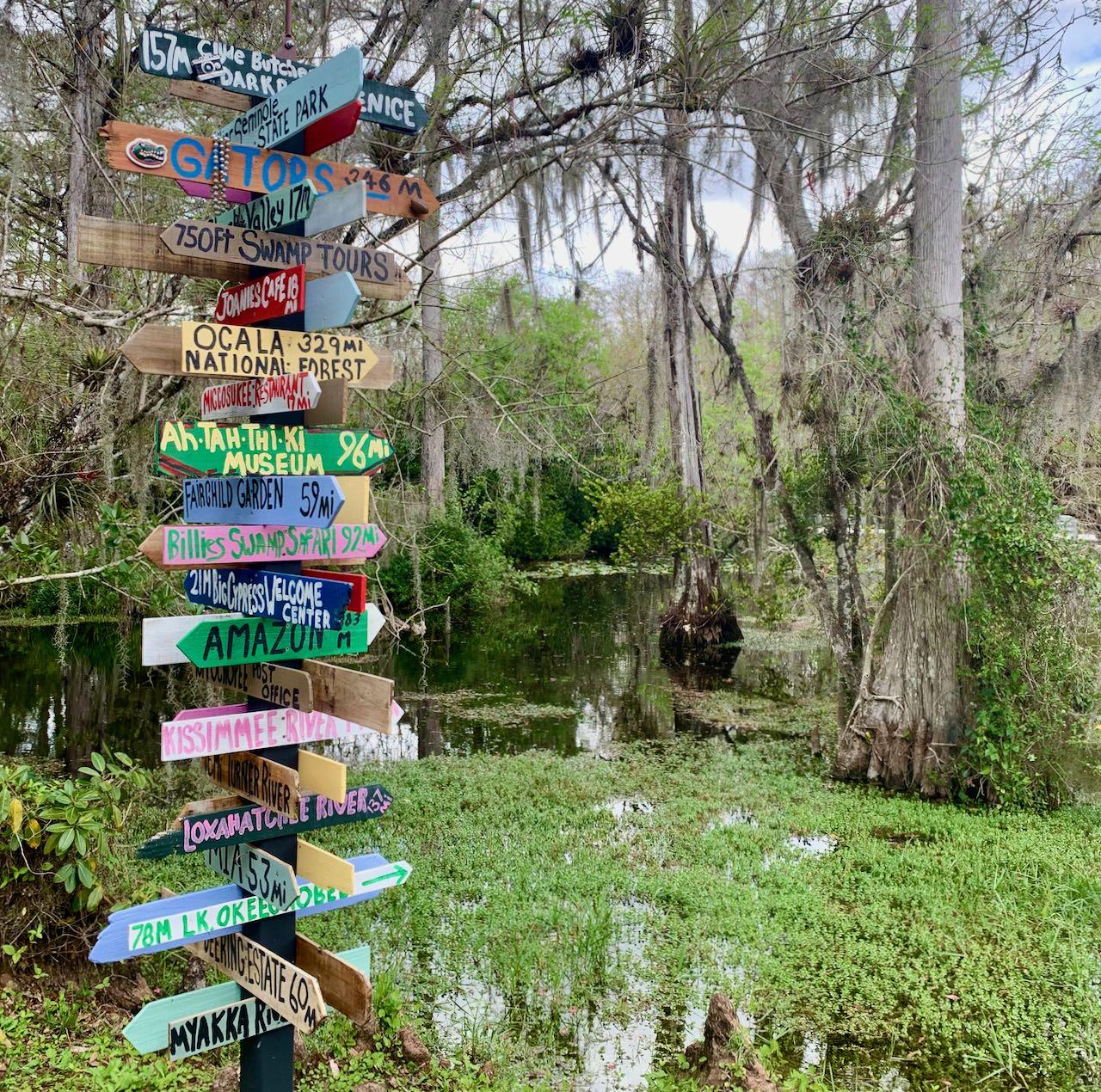 Big Cypress Gallery 17 steder å stoppe langs Tamiami Trail/ U.S Highway 41