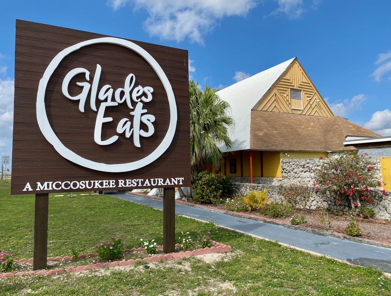 Glades Eats Miccosukee Restaurant Attractions and Places to Stop Along the Tamiami Trail/U.S. Highway 41