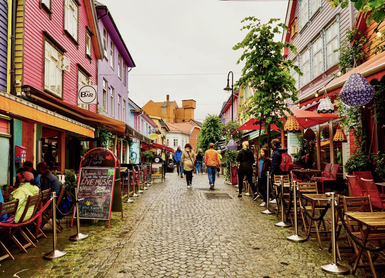 Fargegaten Stavanger 33 travel tips Norway