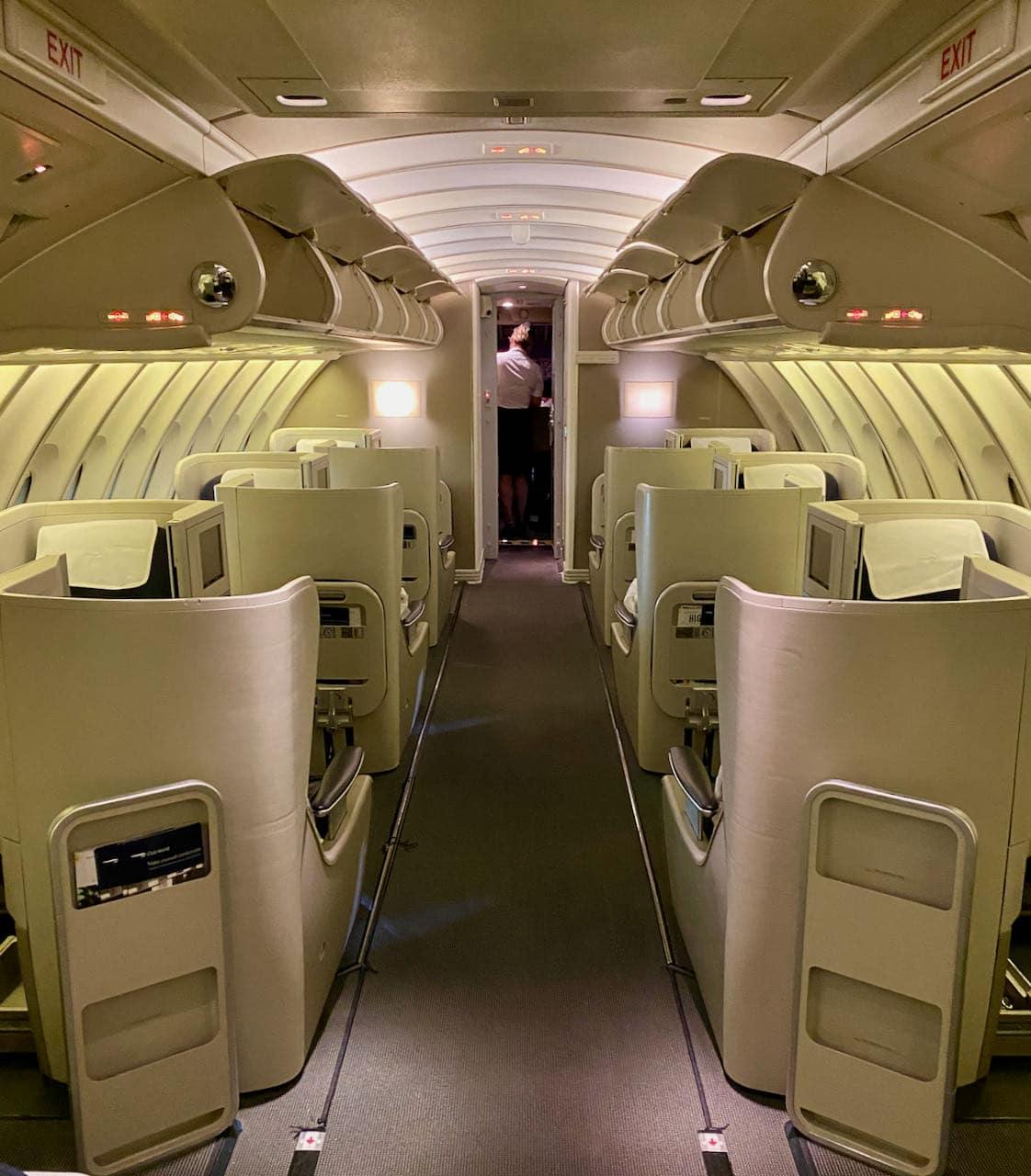 British Airways 747 Business Class