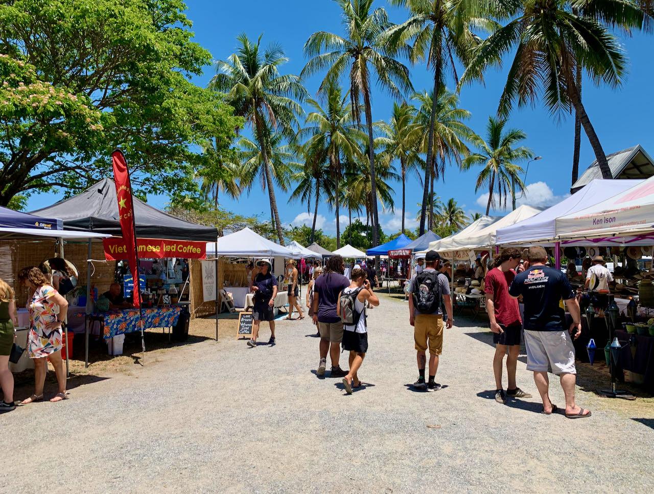 Cairns Road Trip Port Douglas Markets