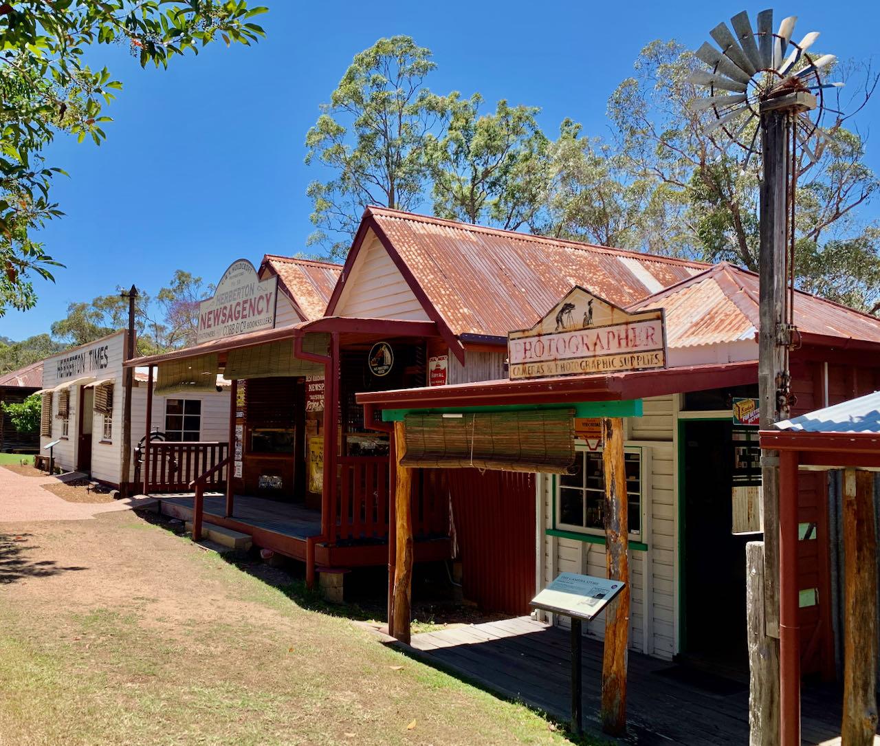Cairns Road Trip Historic Village Herberton