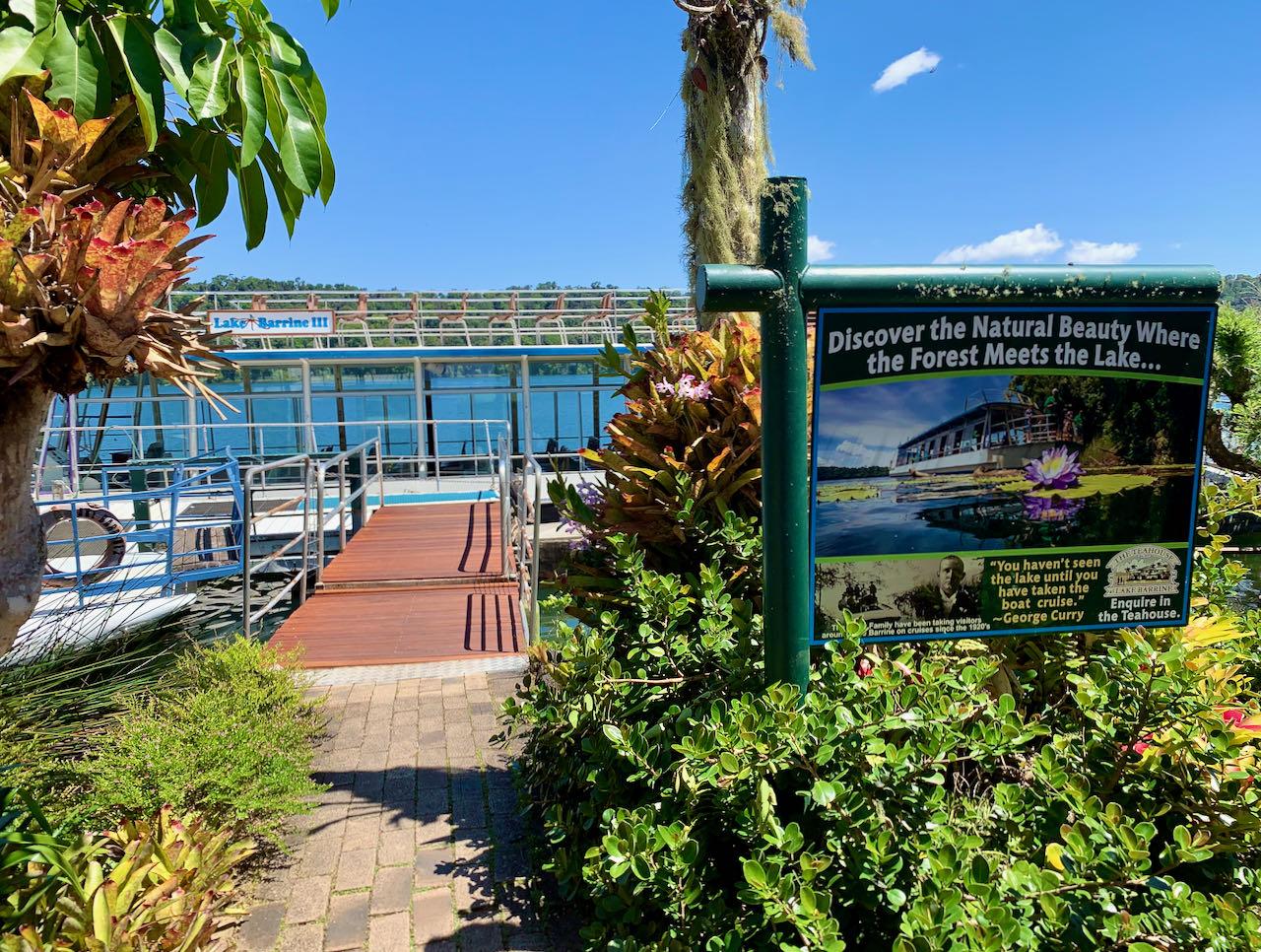 Cairns Road Trip Lake Barrine Rainforest Cruises & Teahouse