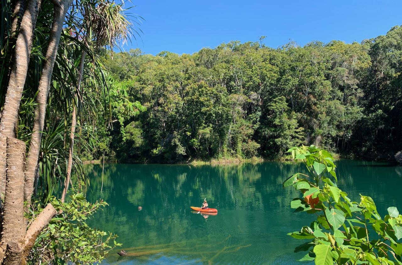 Cairns Road Trip Lake Eacham