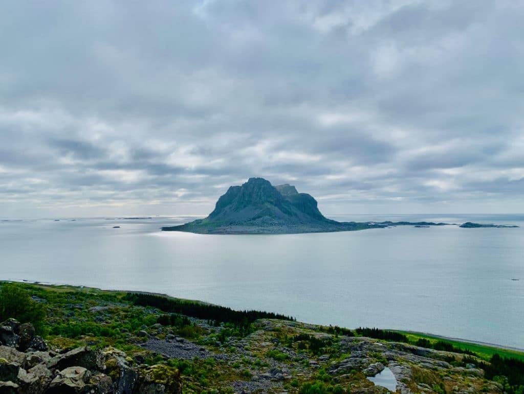 VEGA (Norwegian Scenic Route Helgelandskysten): The view from the Vega stairs.