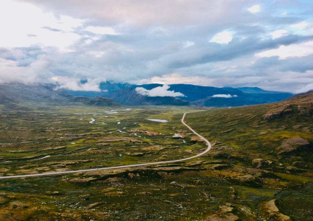 VALDRESFLYE (Norwegian Scenic Route Valdresflye): The road over the Valdresflye mountain plateau is Norway's second highest mountain pass. The highest point on the road is 1389 meters above sea level.