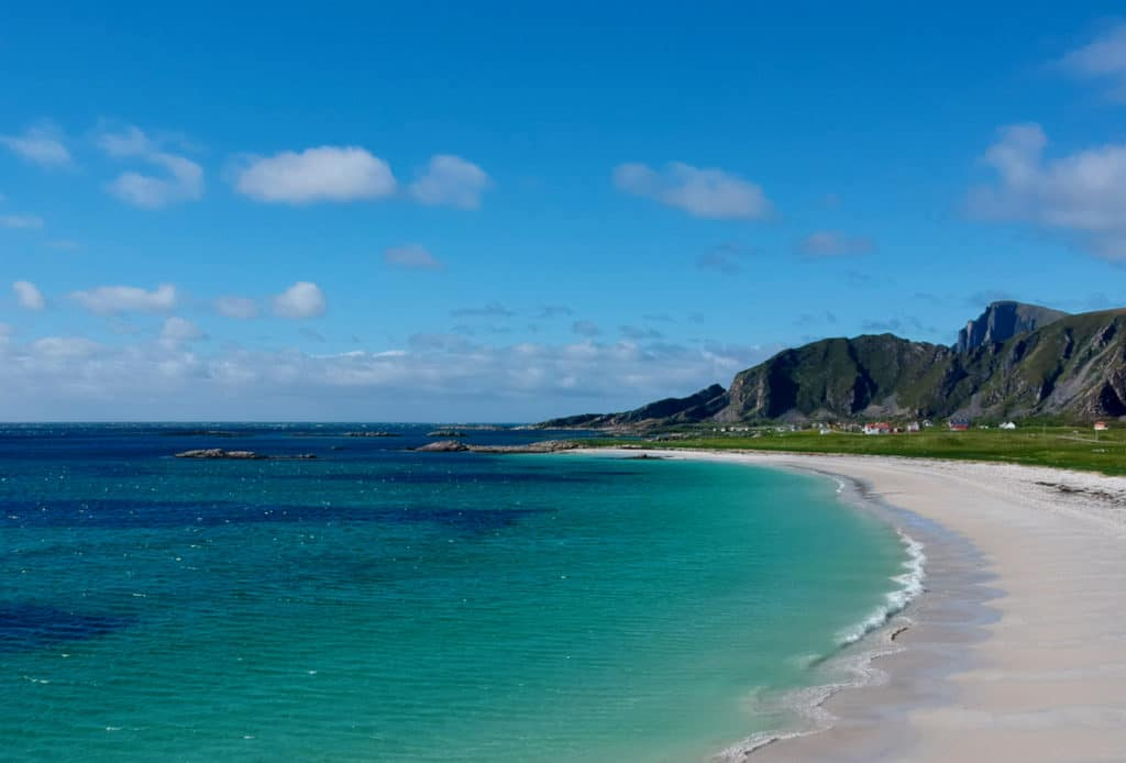 STAVE (Norwegian Scenic Route Andøya): The beaches on the island of Andøya are a delight to the eye.