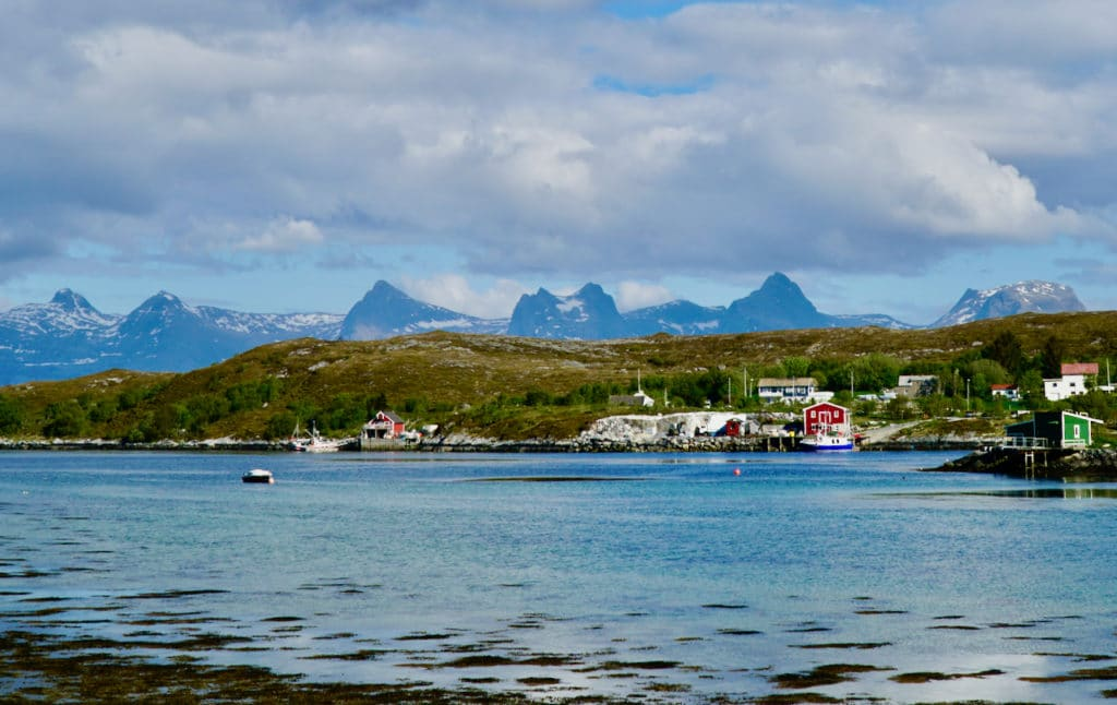HERØY (Norwegian Scenic Route Helgelandskysten): From the island of Herøy you can see the iconic mountain range De Syv Søstre (The Seven Sisters).